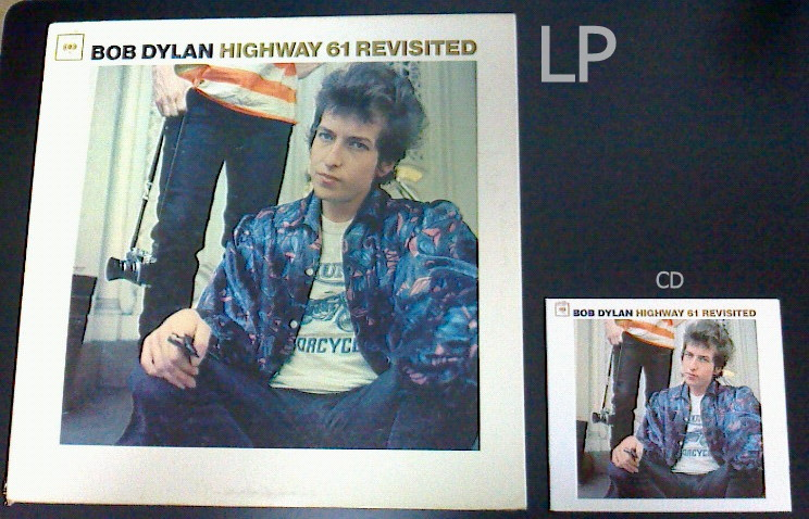 『追憶のハイウェイ61』LPとCD