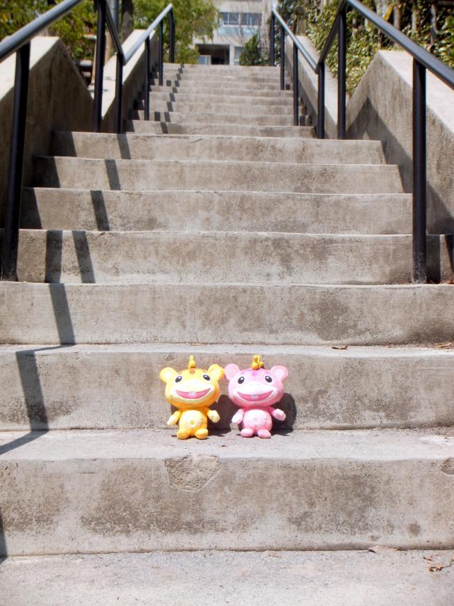 ブースカ 階段
