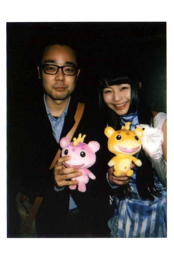 寺嶋由芙さんとチェキ